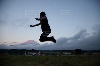 富士山,屋外