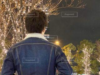男性,光,樹木,イルミネーション,明るい,けやき並木,グランフロント大阪,元高校球児,シャンパンゴールド,高校3年生,GRAND FRONT OSAKA