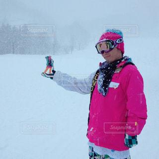 雪,遠近法,スノーボード,吹雪,インスタ映え,ちょっとしたアート