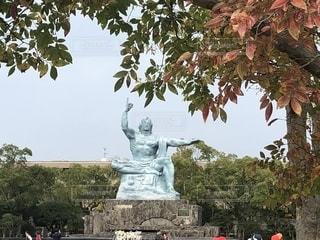 平和記念像の写真・画像素材[1625780]
