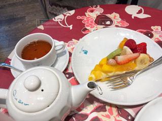 フルーツケーキに大満足(^。^)の写真・画像素材[1883190]