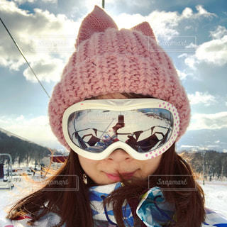 雪,帽子,スキー,ニセコ