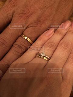 結婚指輪の写真・画像素材[1592944]