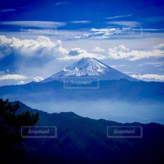 自然,富士山,青空,山,雄大,日本,頂上,ブルーマウンテン,日本の風景,美しい風景