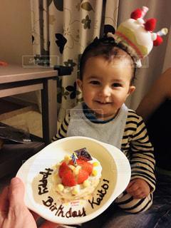 1歳の誕生日の写真・画像素材[1667559]