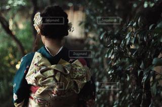 成人式前撮りの写真・画像素材[1714244]