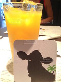 ジュース,島,黄色,沖縄,鮮やか,お店,旅行,レストラン,イタリア,宮古島,オレンジジュース,コースター