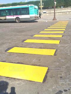 屋外,海外,黄色,道路,鮮やか,旅行,フランス,横断歩道,野外