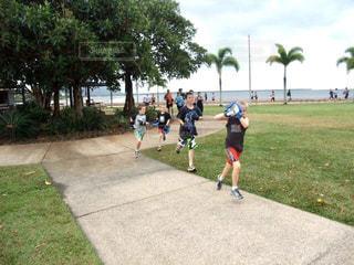 夏,靴,子供,走る,観光,旅行,ランニング,朝,健康,運動,オーストラリア,フォトコンテスト