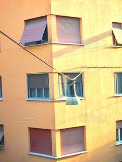 建物,海外,黄色,窓,ローマ,観光,ランプ,オシャレ,街灯,イエロー,黄,Italy,yellow