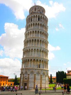 建物,海外,青空,散歩,観光地,旅行,旅,イタリア,Snapmart,ピサの斜塔,素材,ピサ,写真素材,フォトコンテスト