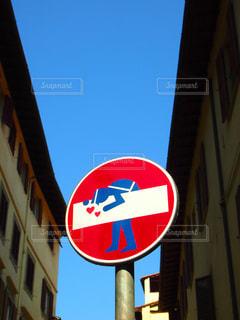 空,建物,屋外,青空,観光地,アート,標識,旅行,旅,イタリア,Snapmart,素材,フィレンツェ,写真素材,フォトコンテスト