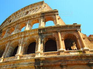 空,建物,屋外,青空,観光地,ローマ,アート,旅行,旅,イタリア,Snapmart,写真素材,フォトコンテスト,コロセオ