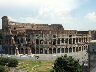 建物,青空,観光地,ローマ,アート,旅行,旅,イタリア,Snapmart,写真素材,フォトコンテスト,コロセオ
