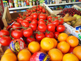観光地,ローマ,オレンジ,トマト,野菜,さくらんぼ,旅行,旅,店,イタリア,Snapmart,スーパー,散策,写真素材,フォトコンテスト