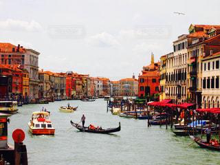 ベネチアの街並みの写真・画像素材[1853484]