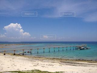 沖縄のナガンヌ島のビーチの写真・画像素材[1864948]