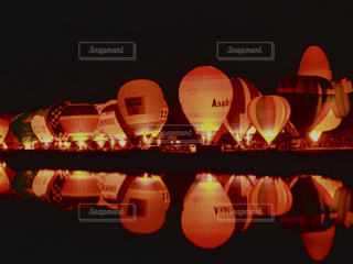 秋,バルーンフェスタ,佐賀県,11月,インターナショナルバルーンフェスタ,嘉瀬川,夜間係留