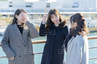 笑っている女性たちの写真・画像素材[1698791]