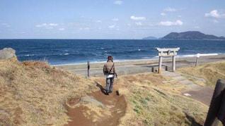 山から海へ‼︎の写真・画像素材[1605984]