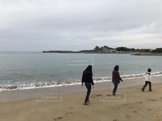 海辺散歩の写真・画像素材[1626064]