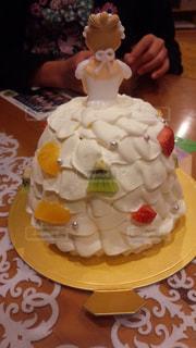 ケーキ,白,ドレス,誕生日,お祝い,ホワイト