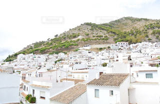 風景,白,スペイン,ホワイト,白い街