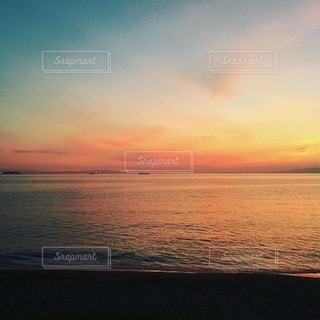 夕日の写真・画像素材[3574838]
