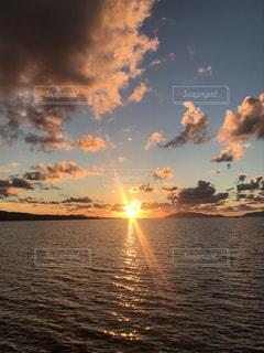 夕日,未来,夢,宍道湖,ポジティブ,可能性