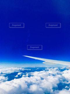 飛行機からの写真の写真・画像素材[1694320]