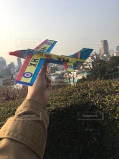 空,屋外,飛行機,おもちゃ,旅立ち,ソフトグライダー