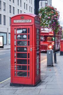風景,赤,ヨーロッパ,旅行,イギリス,ロンドン,海外旅行,通り,電話ボックス,インスタ映え