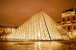 風景,建物,夜,夜景,ヨーロッパ,旅行,フランス,パリ,美術館,海外旅行,インスタ映え