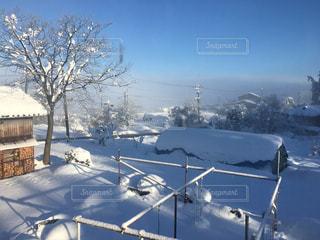 空,冬,雪,屋外,白,アート,冬景色,ホワイト,新潟県,フォトジェニック