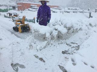 白,ホワイト,除雪,新潟県,年寄り,大変