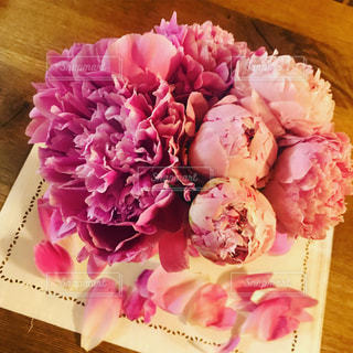 ピンク,花束,かわいい,きれい,嬉しい,ピオニー