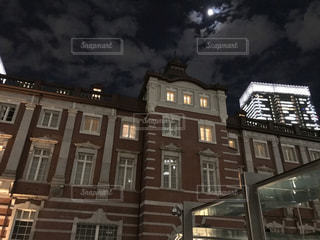夜の東京駅2の写真・画像素材[1702528]