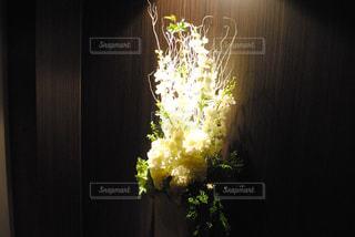 花,白,ホテル,生け花,飾り