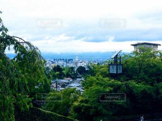 静かな京都の風景の写真・画像素材[1666262]