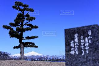 青空と鳥海山の写真・画像素材[1862082]