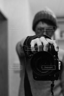 セルフショットの写真・画像素材[2268828]