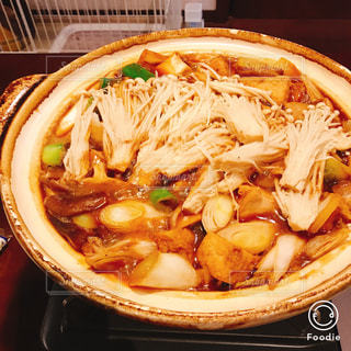 味噌煮込み鍋の写真・画像素材[1706825]