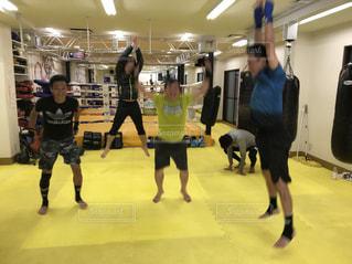 ジャンプ,人物,人,ボクシングジム