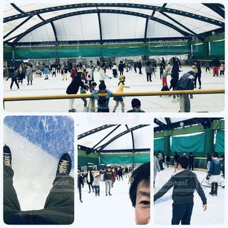 スケートに挑戦!の写真・画像素材[1711855]