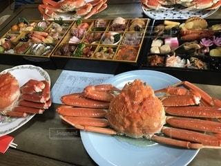 蟹🦀付き御節料理!の写真・画像素材[1742523]