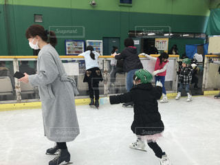 アイススケート初心者⛸の写真・画像素材[1826842]