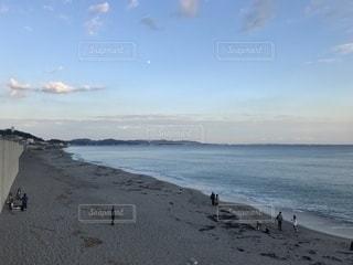 夕暮れ海岸の写真・画像素材[2335568]