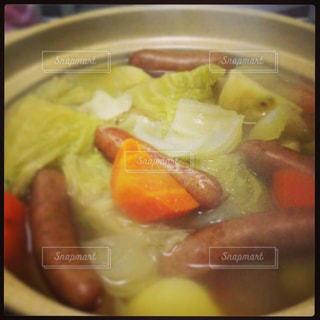 ポトフ,野菜,鍋,料理,あったか,具沢山,ホッとする
