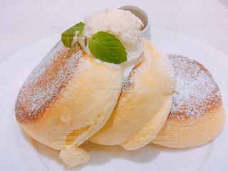 幸せのパンケーキの写真・画像素材[1646804]