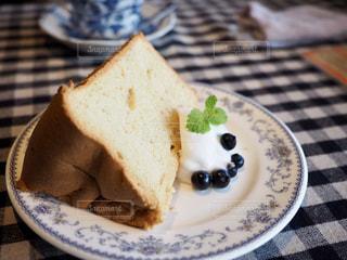 シフォンケーキの写真・画像素材[1632864]